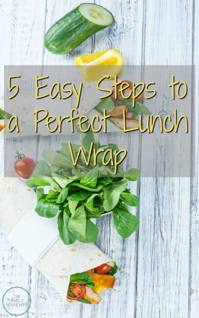 Lunch wraps are a perfect sandwich alternative. In five simple steps, you can make an easy and healthy sandwich wrap. Brown bagging it never tasted so good!