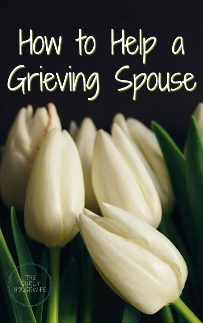 Losing a parent is a devastating loss. How do you help your spouse in the grieving process? Read this for information on how to help a grieving spouse.