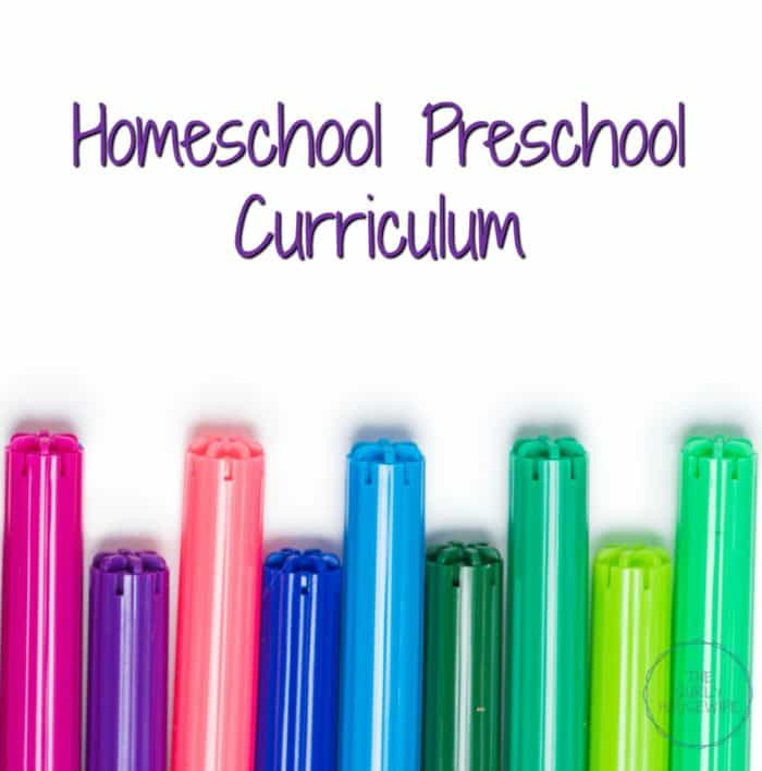 Homeschooling the preschool years doesn't need to be expensive. Check out this post on how I created a homeschool preschool curriculum!