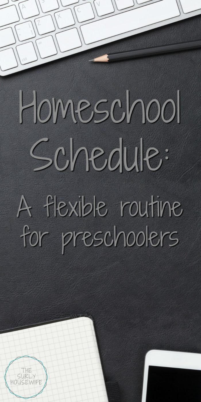 A flexible but reliable daily homeschool schedule helps to keep our family running smoothly. Click here to see a homeschool schedule for preschoolers!