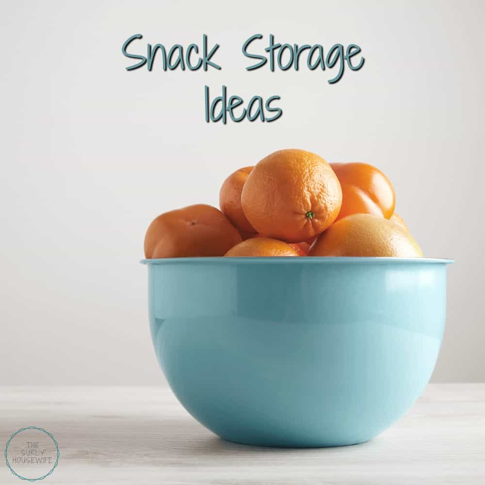 Snack storage ideas that allow kids to get their own snacks. But simple enough so your kids get healthy snacks whenever they need them!