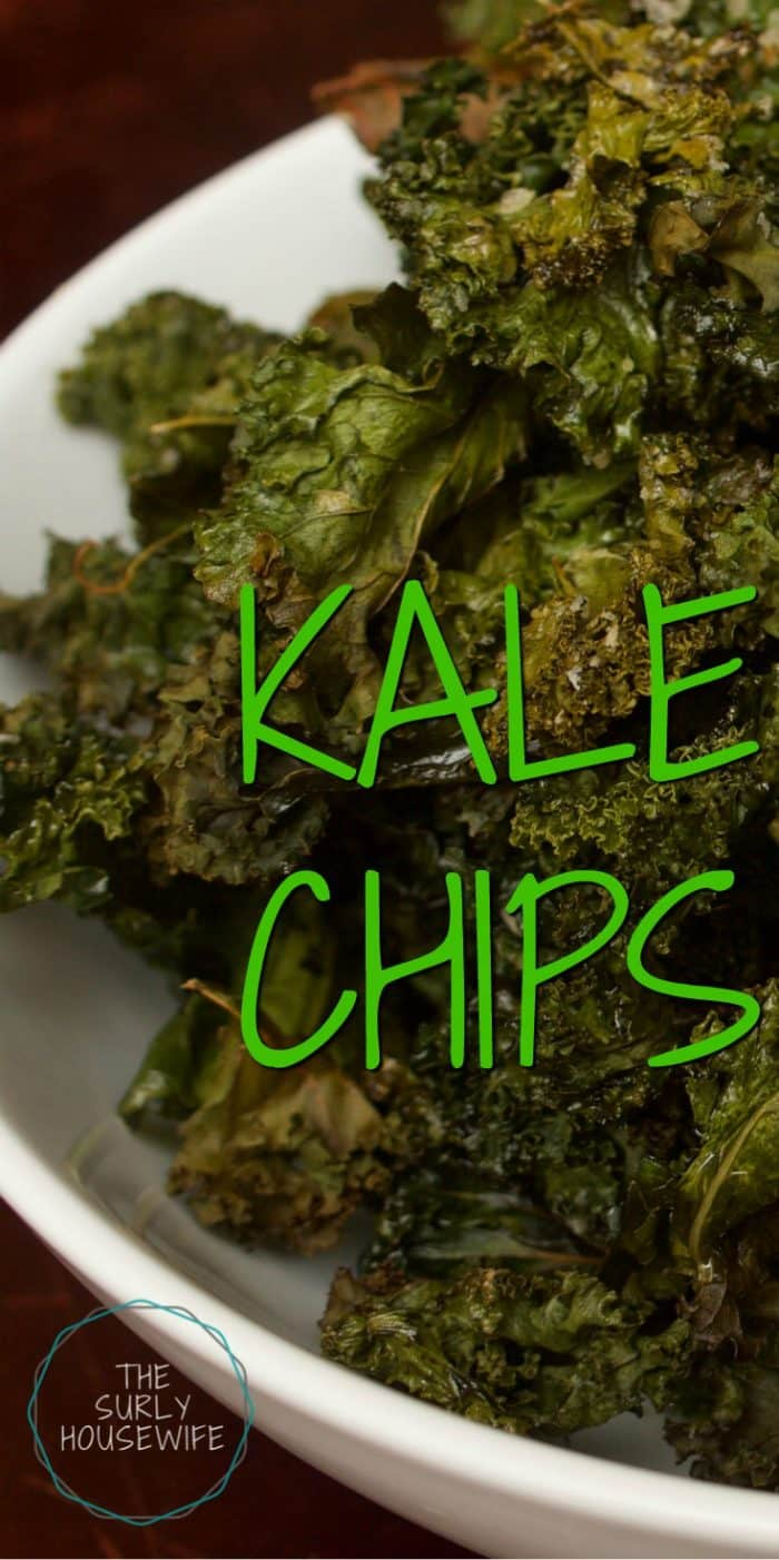Kale Chips A Nutritious Fast And Easy Snack For The