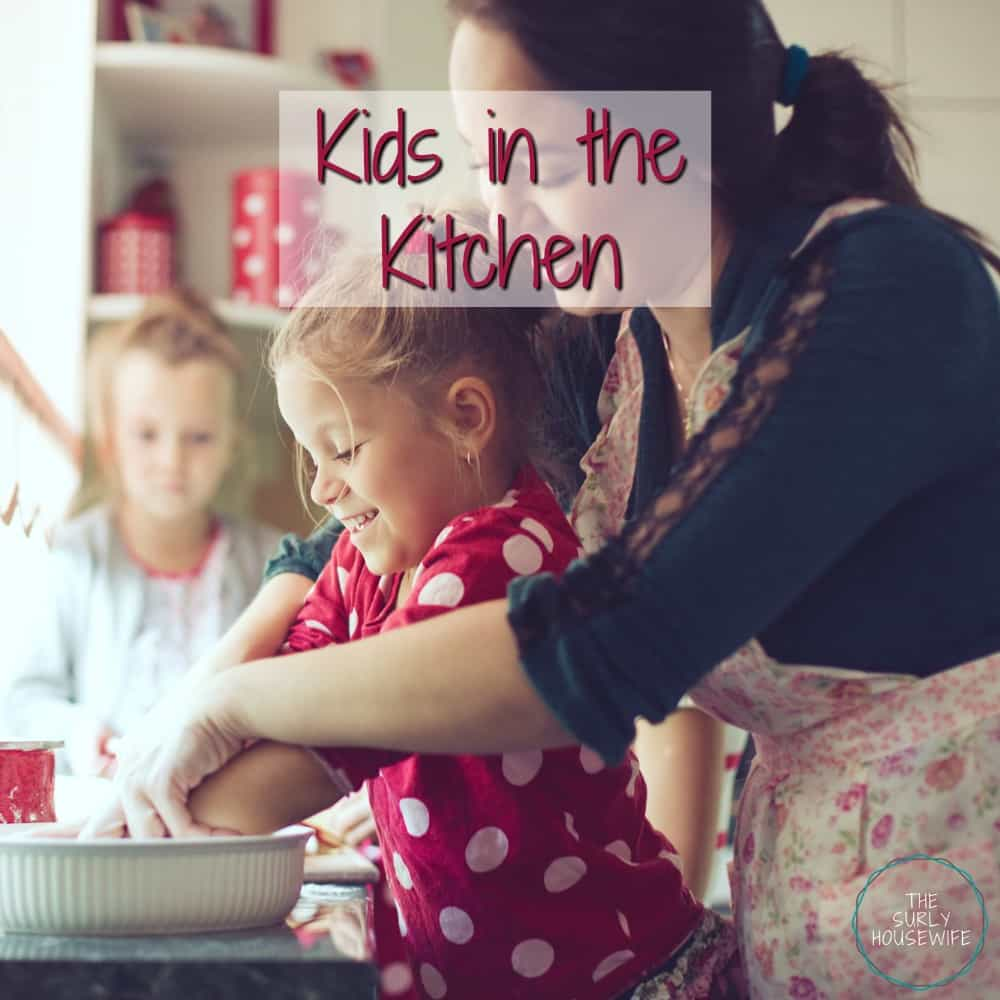 The Impatient Mom's Guide to Cooking with Kids
