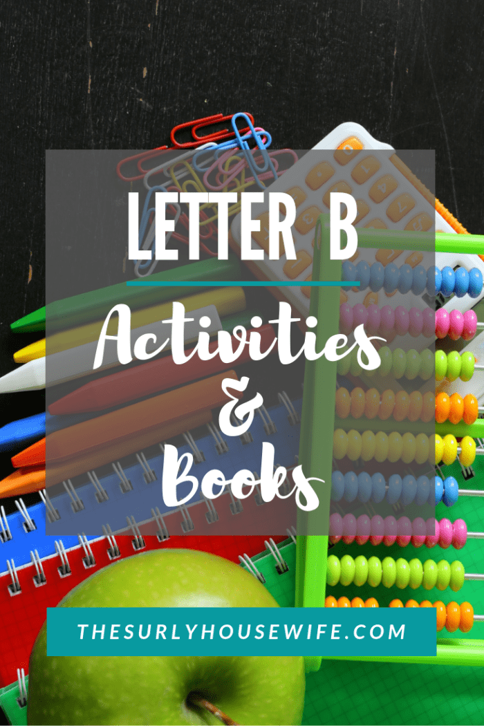B is for bears, bears, and more bears! Check out this post for Letter B activities for preschool and Letter B crafts for your homeschool preschool.