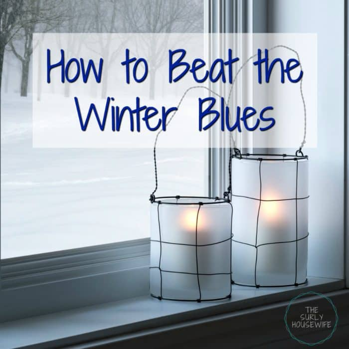 Does winter get you down? Check out this post for tips on how to beat the winter blues and keep your house cozy all winter long!