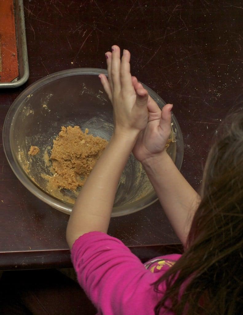 peanut butter stars step 2