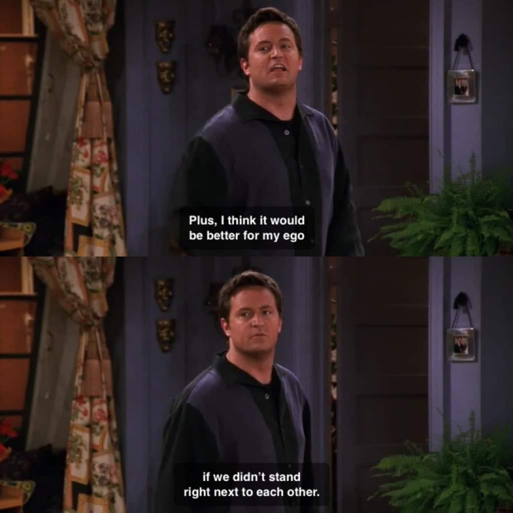 Chandler Bing Friends Thanksgiving