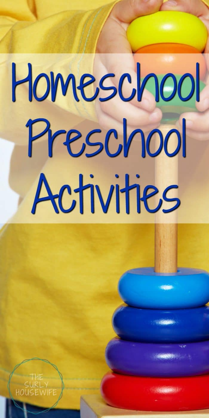 Looking for homeschool preschool activities? Check out this post to see what our family does when we aren't sitting down learning our ABCs and 123s.