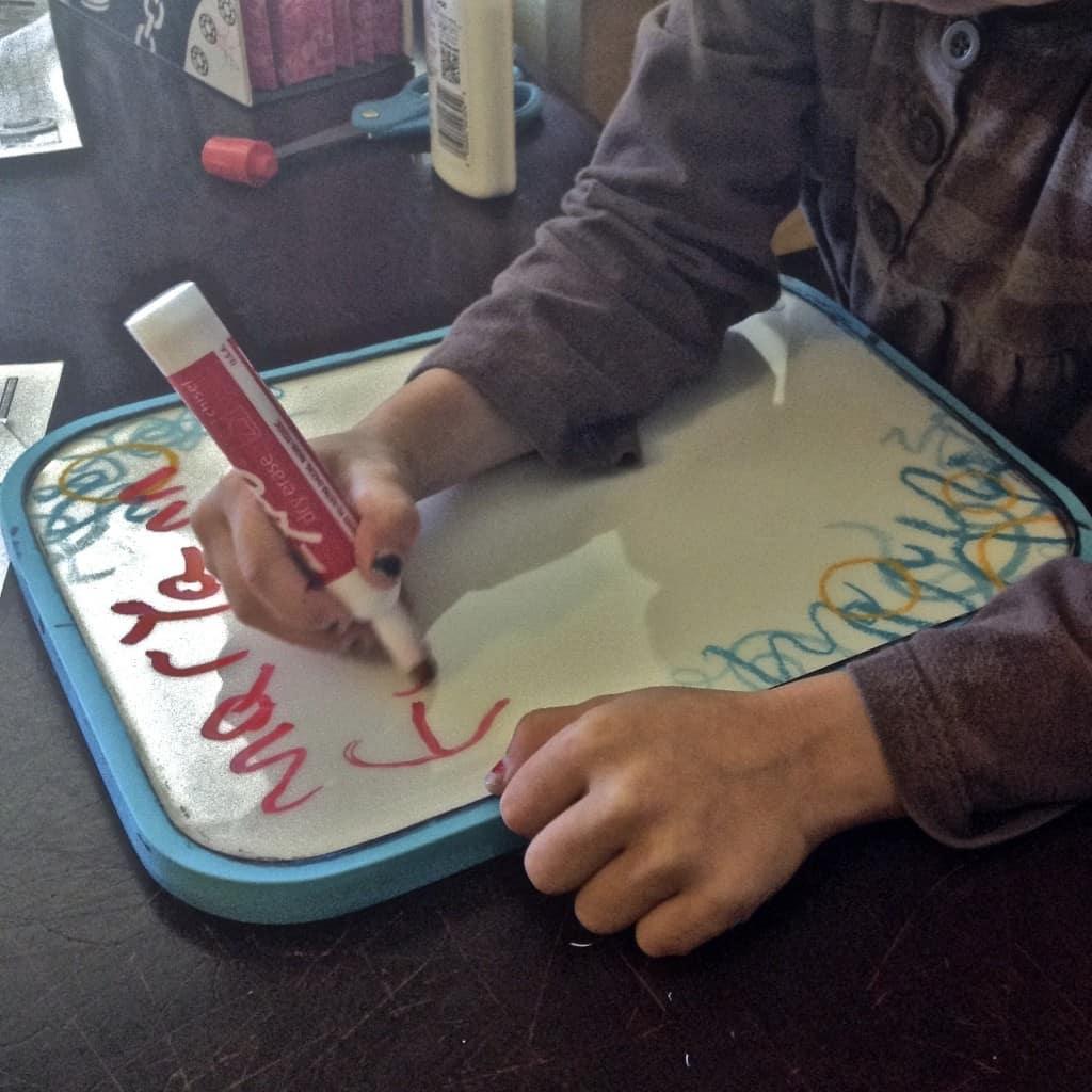 homeschool preschool activities writing