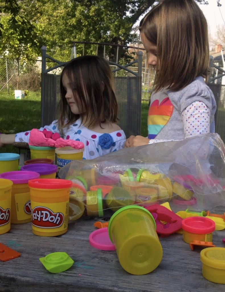 homeschool preschool activities play-doh