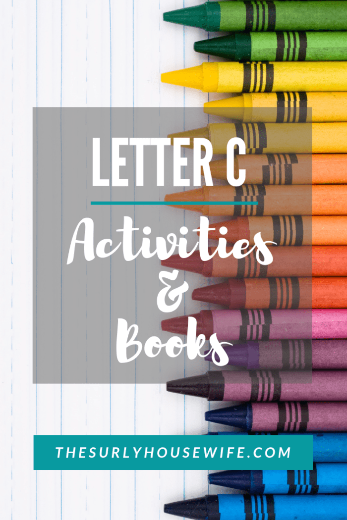 Letter C activities for preschool provide a fun and hands-on way for toddlers, preschoolers, and kindergartens to learn and practice the letter C. This post includes activities, books, crafts, and ideas for the Letter C.