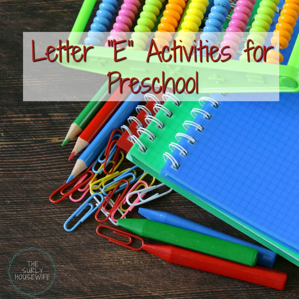 Letter E Activities For Preschool are a fun and hands-on way for toddlers, preschoolers, and kindergartens to learn and practice the alphabet. Organizing all those free printables is must if you are going to keep your homeschool running smoothly. Check out this post for tips and tricks on how to resuse those printables and reduce clutter!
