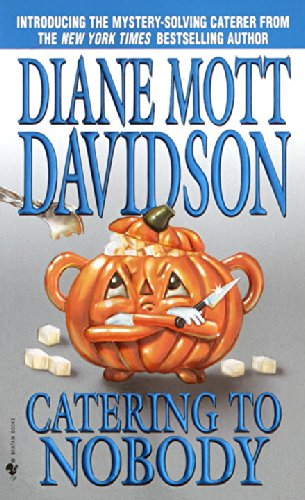 Catering to Nobody is the first in the Goldy Bear Culinary Mystery series. It combines 2 of my favorite subjects: murder mysteries and food! It's a good book I would recommend to anyone looking for a book recommendation. Check it out!