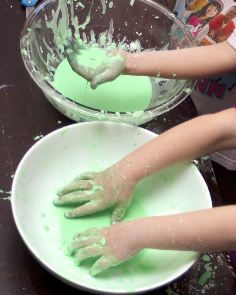 the best oobleck recipe