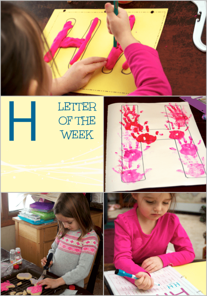 Are you a homeschooler looking for letter H activities for preschool? This post features ideas, crafts, and activities all about the Letter H!