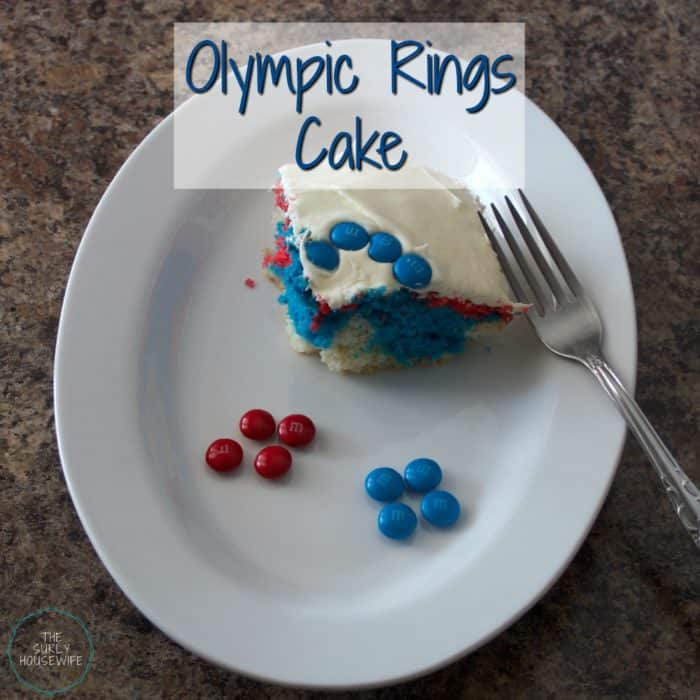 The Olympics come around once every four years. Celebrate by having an Olympic party with your kids. Make sure to include this easy Olympic rings cake!