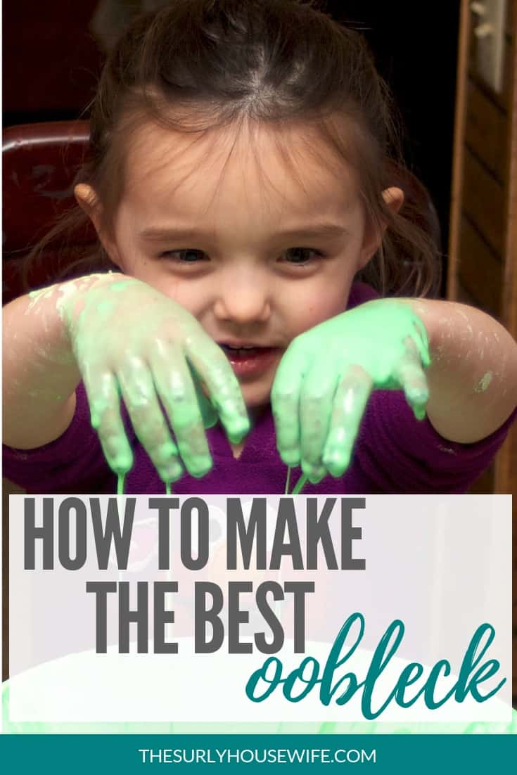This method produces the best oobleck recipe. A great source of messy fun for kids. With just a few simple ingredients, your kids will have hours of fun.