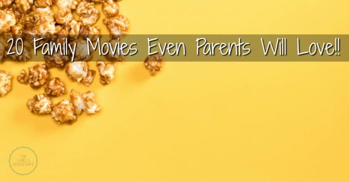 Family movies parents will like