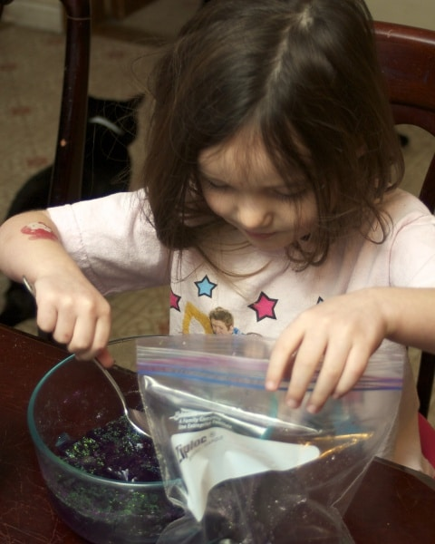 jello sensory activity