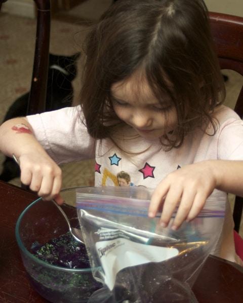 jello sensory activity