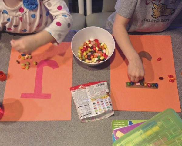 jelly bean activity for preschoolers