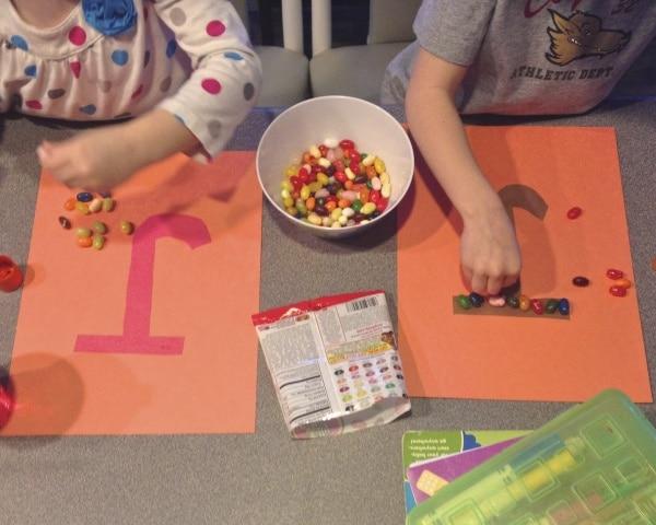 jelly bean activity for preschoolers