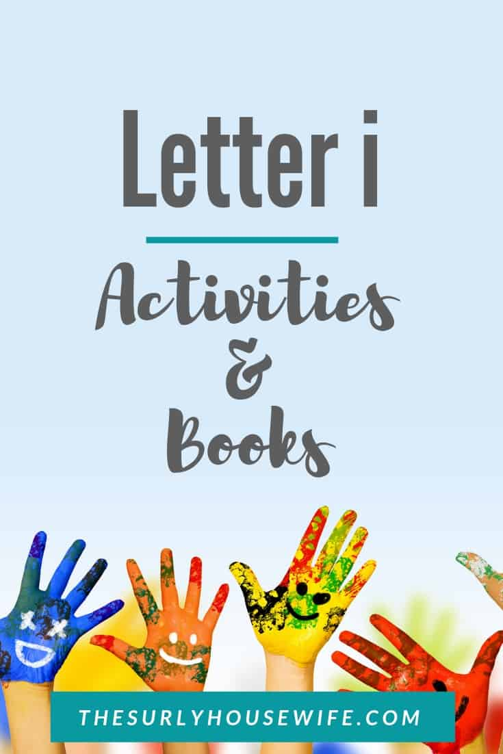 Letter I activities for preschool