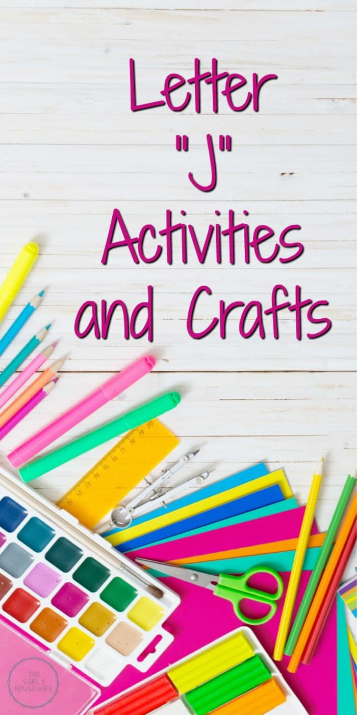 Letter J Activities For Preschool Are A Fun And Hands On Way Toddlers