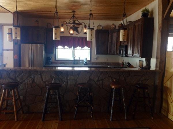 breakfast bar at Big Valley Ranch