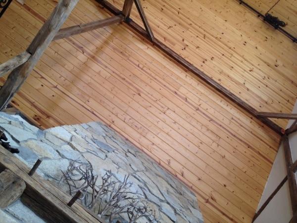 Barn ceiling of BVR