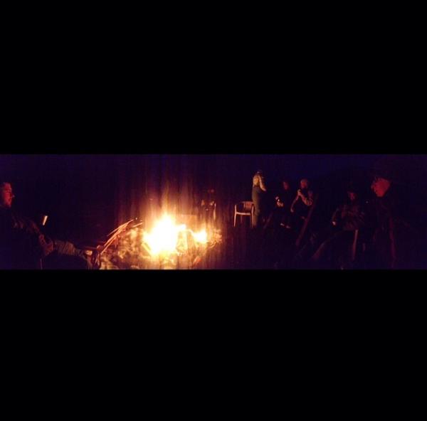 bonfire at BVR