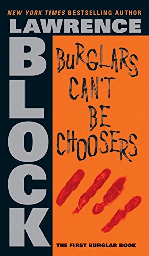 Burglars Can't Be Choosers is book 8 in my reading goal. It's a good book I would recommend to anyone looking for a book recommendation. Check it out!