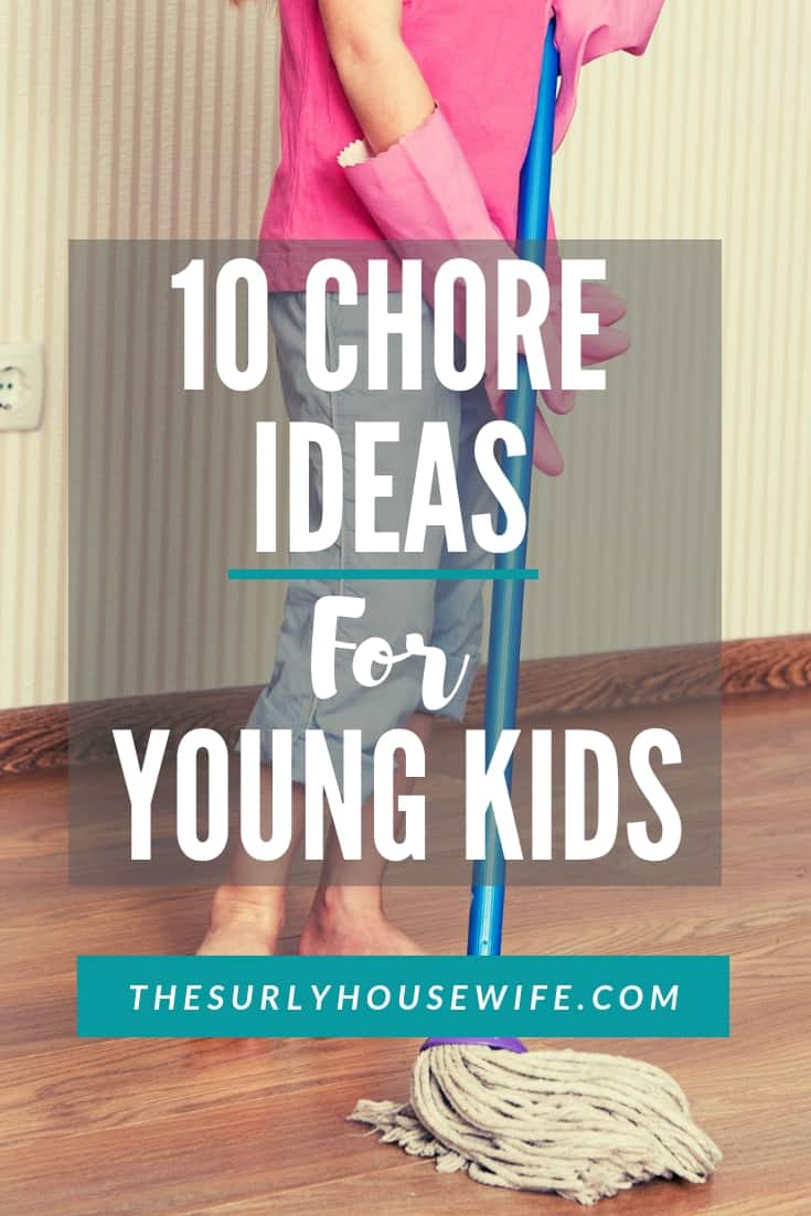 chore ideas for kids pin