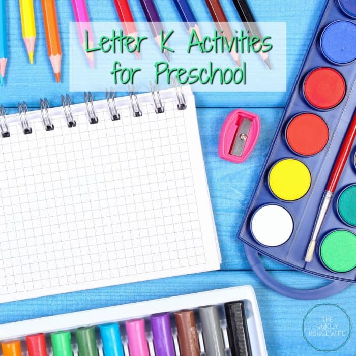 Need letter K activities for preschool? Check out this post for 4 simple letter K crafts and activities for homeschoolers
