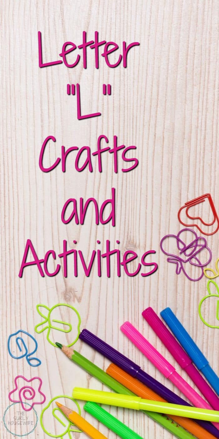 Letter L activities for preschool are a fun and hands-on way for toddlers, preschoolers, and kindergartens to learn and practice the alphabet. This post includes activities from our Letter of the Week L: a love craft, lavender sensory play, and a meaty lasagna recipe. Check it out!
