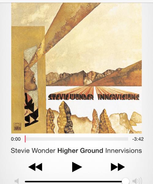 Higher Ground by Stevie Wonder