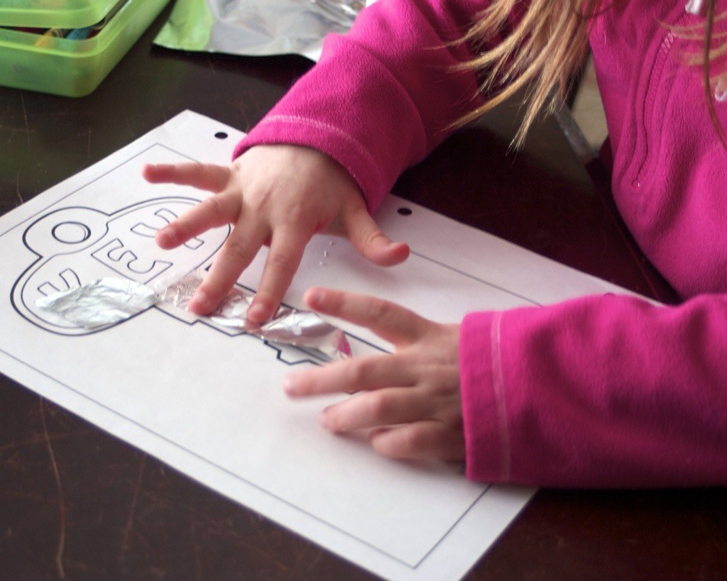 K is for key. Key activity for preschoolers.