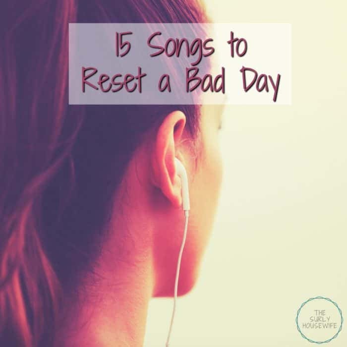 Everyone can have bad days. As a housewife and homeschooler, days can get hard. That is why I have a list of songs to relieve stress to help on bad days