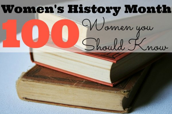 March is Women's History Month. This list of 100 women is guaranteed to give you ideas for bulletin boards and activities for the month of March. The list includes authors, athletes, entertainers, humanitarians and more! The last category is my fave!!