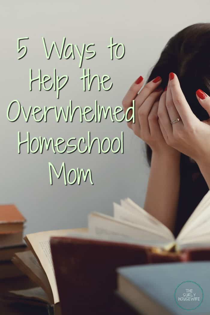 Does it feel like homeschooling is taking over your life? Do you always feel behind? Click on this post for help for the overwhelmed homeschool mom.