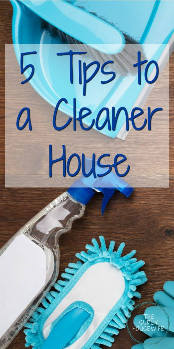 Hate cleaning but want to get your house in order? Here are 5 tips to a clean house where you will get your house in order in as little as 30 minutes a day.