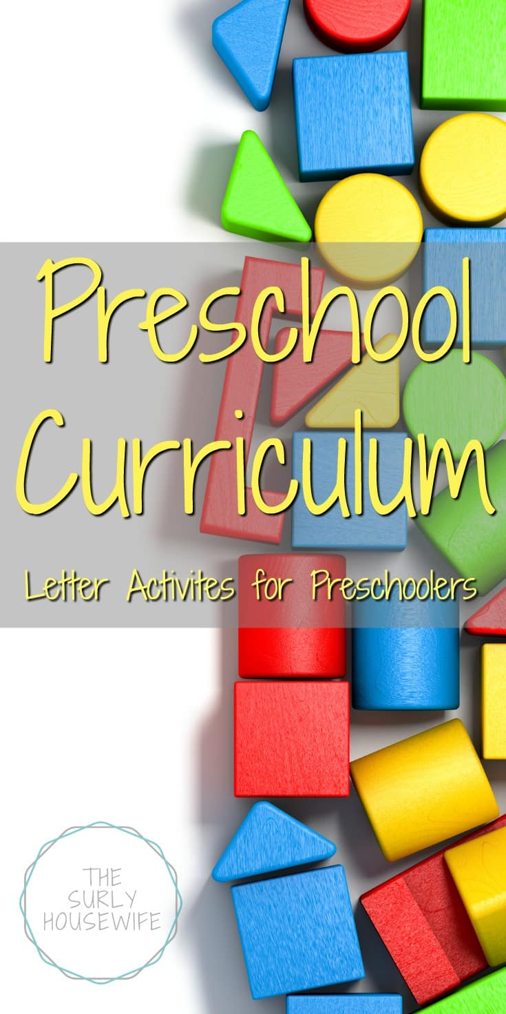 Looking for preschool curriculum for your homeschool? Click to see 10 of our favorite letter activities for preschoolers!