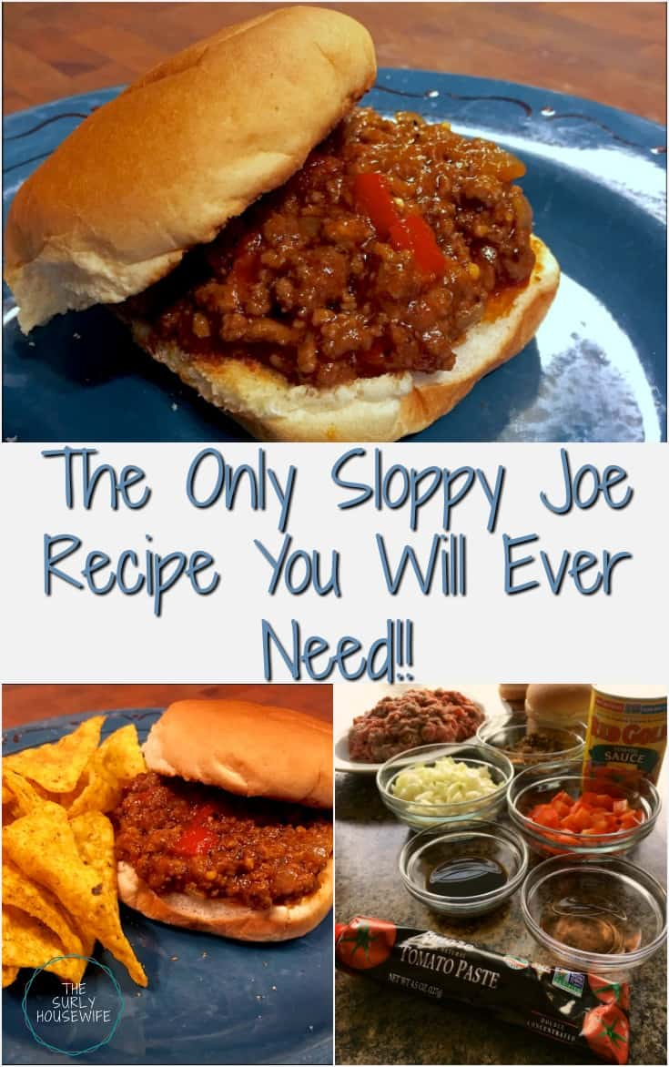 Looking for an easy dinner recipe? This sloppy joe recipe is the only one you'll ever need. It's quick, easy, and delicious.