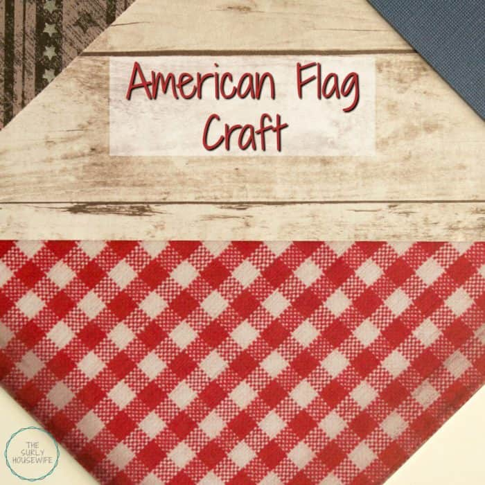 American Flag Craft