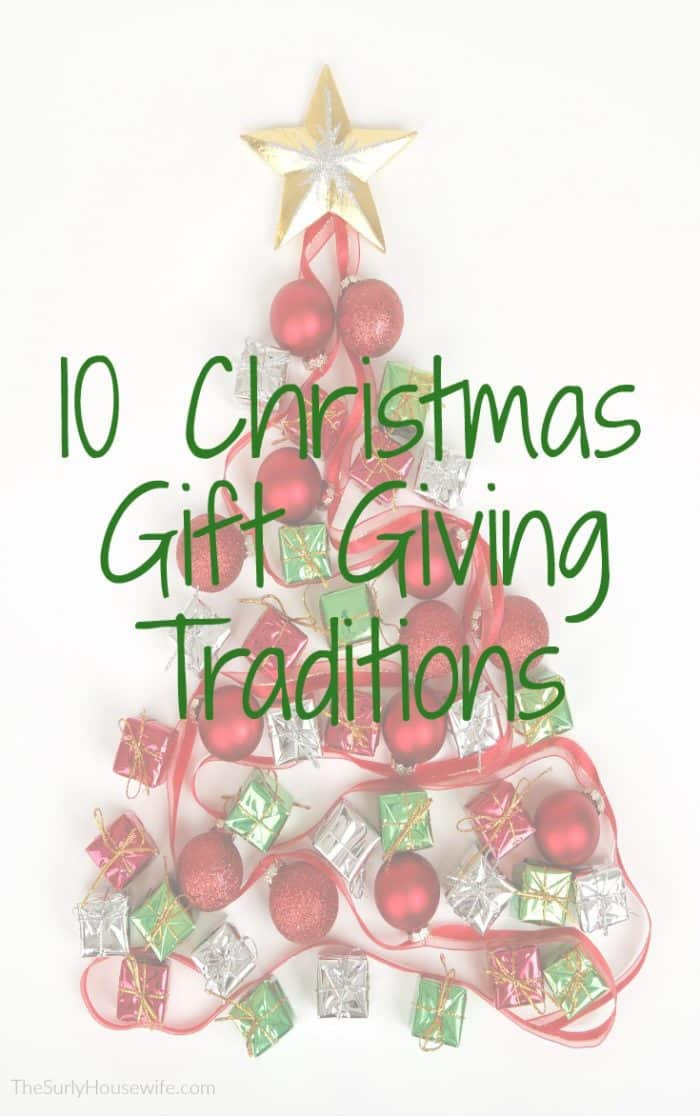 Christmas shopping for kids is made so much easier by having Christmas gift traditions in place. Click here for 10 Christmas gift giving ideas! | Christmas Gift Ideas for Family | Christmas gifts ideas for kids | four gift rule | Four gift rule ideas