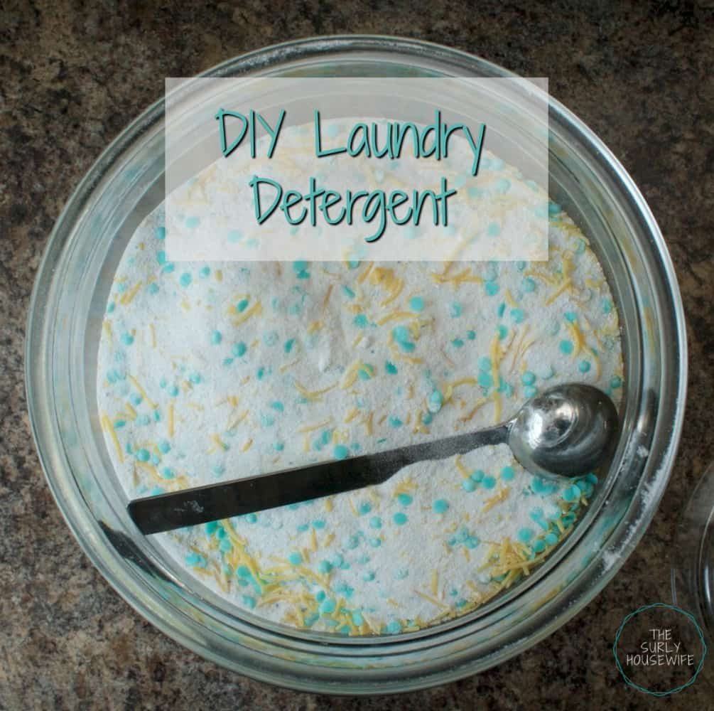 Laundry is an endless chore in any house. This method for DIY laundry detergent will change the way you do laundry. Click here for recipe!