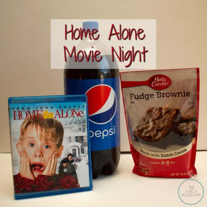 Title image for blog post: The Secret  to a fun Home Alone Movie Night!