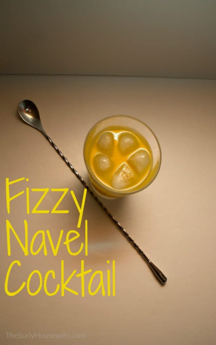 The fizzy navel cocktail is an easy vodka recipe which closely resembles the screwdriver. Check out this post for a Skinnygirl Vodka Drink!