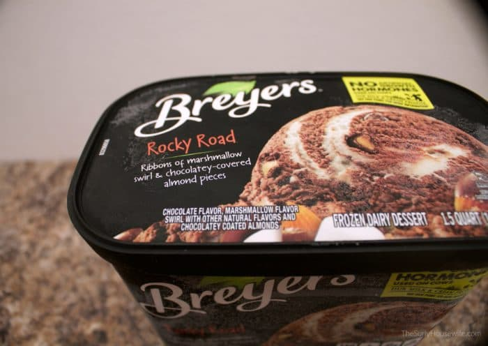 Breyer's Rocky Road Ice Cream