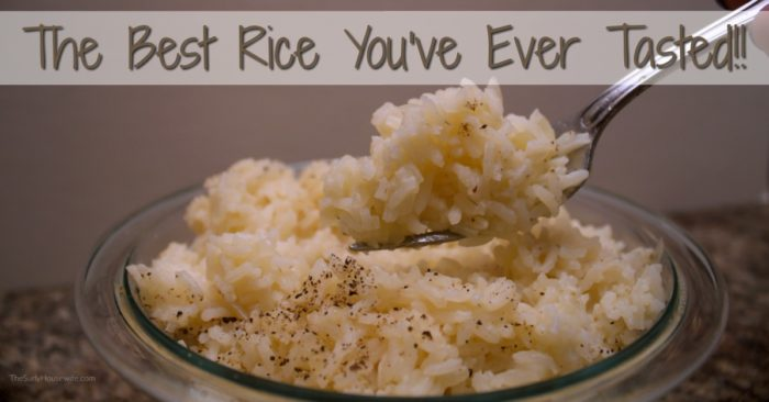How to Make Butter Rice